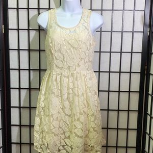 Just Ginger Lace Dress Size M